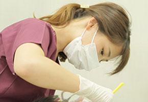 歯科衛生士によるメンテナンス