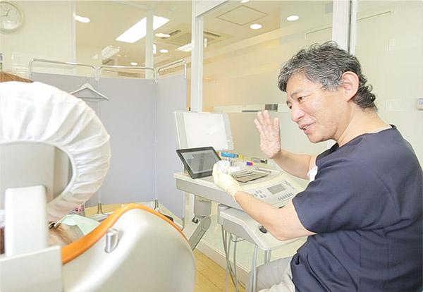 担当医師制により、正確な状況把握と治療を実施