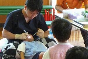 保育園への出張歯科検診を実施