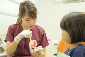 ご自宅での歯みがき・ケア方法の指導