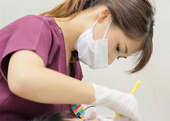 3.歯石や歯垢の除去