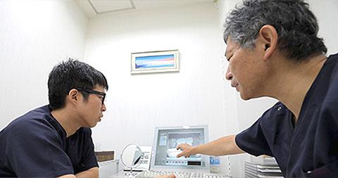 南茨木プラザ歯科の取り組み 治療のスタートである検査と診断を徹底し、より質の高い治療の提供を可能にします